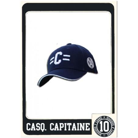 Casquette Carré Magique Capitaine