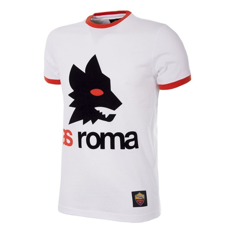 T-shirt rétro AS Roma