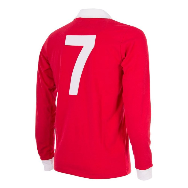 Maillot rétro Manchester United N°7 BEST