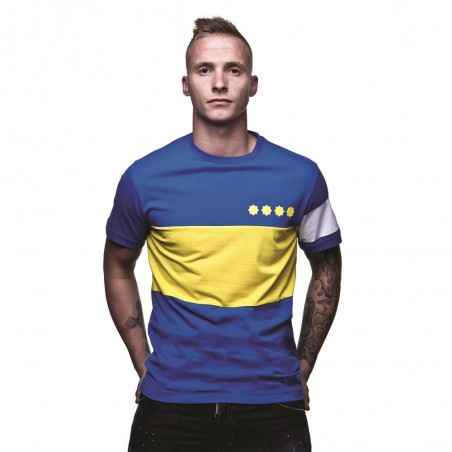 Tee-shirt rétro Boca Junior capitaine