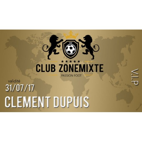 Club Zone Mixte - Vip