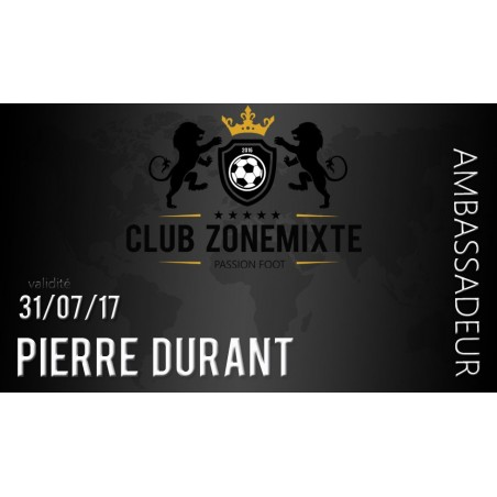 Club Zone Mixte - Ambassadeur