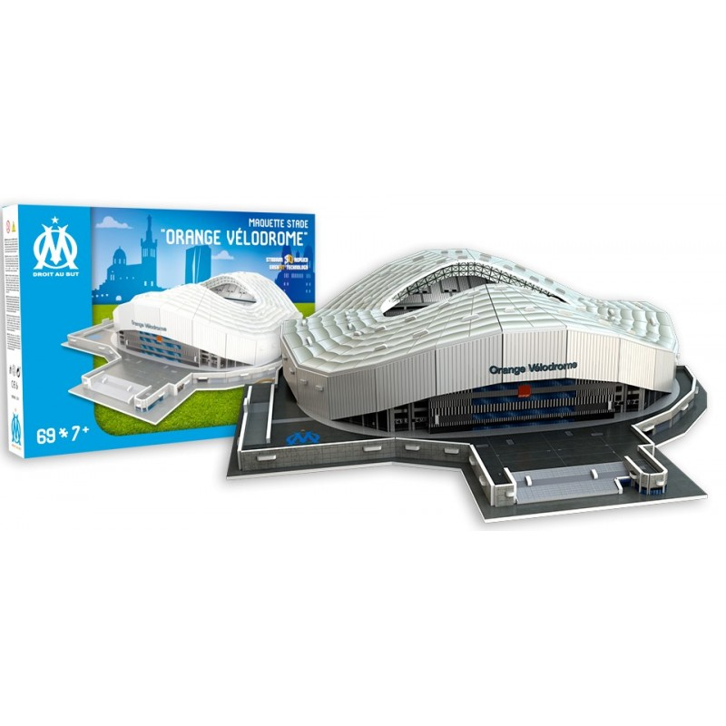 Stade Velodrome Marseille 3D