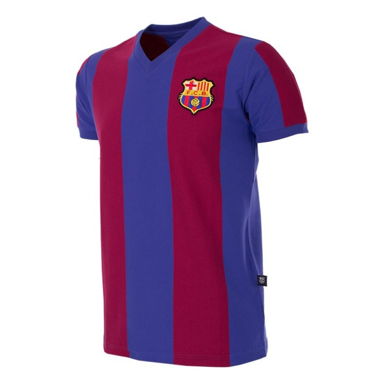 Maillot rétro Barcelone 1976-77