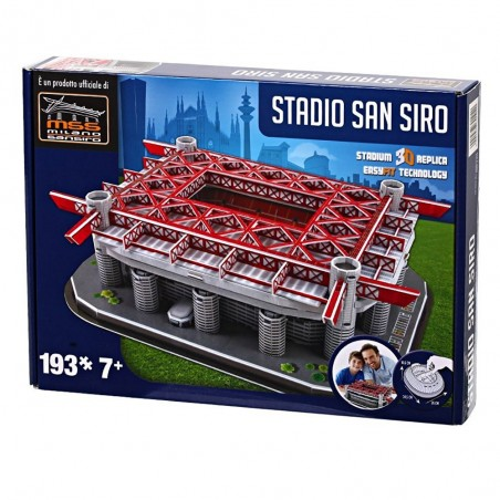 Puzzle 3D San Siro (Inter & Milan)