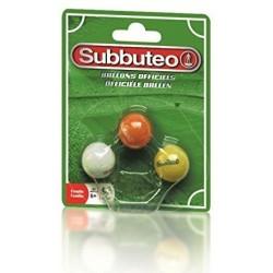 Boite de 3 ballons Subbutéo