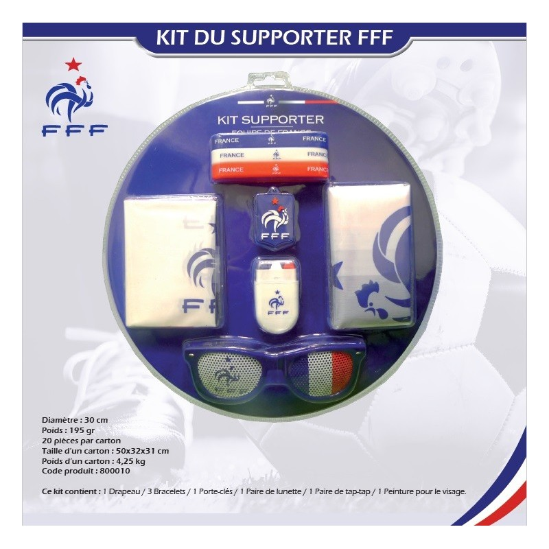 Kit supporter Equipe de France