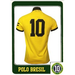 Polo Carré Magique Brésil N°10