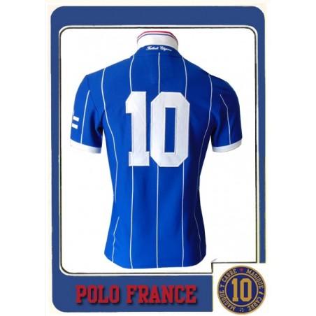 Polo Carré Magique France N°10