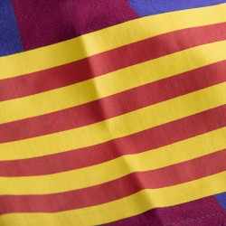 T-Shirt rétro FC Barcelone - Brassard Capitaine