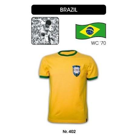 Maillot rétro Brésil 70