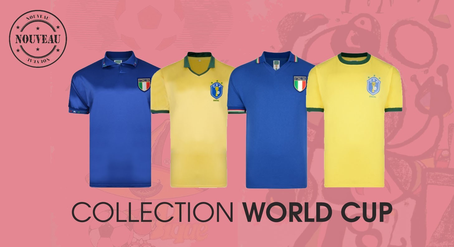 Maillots rétro world cup